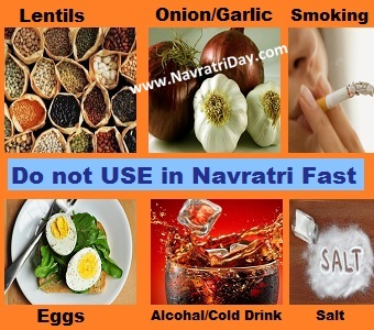 Navratri Fasting Rules